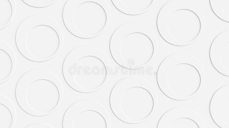 Fondo bianco del cerchio fotografie stock libere da diritti