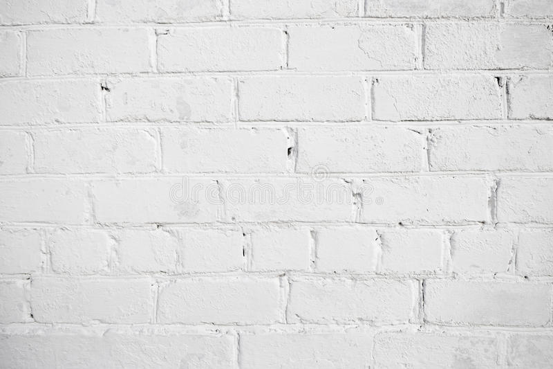 Fondo bianco del mattone fotografia stock libera da diritti
