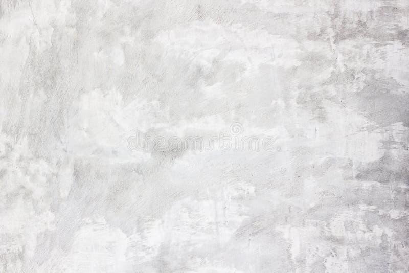 Fondo bianco del muro di cemento, fotografia stock libera da diritti