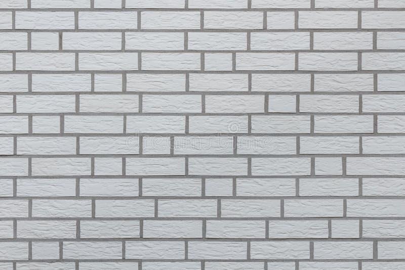 Fondo bianco della parete di mattoni illustrazione di stock