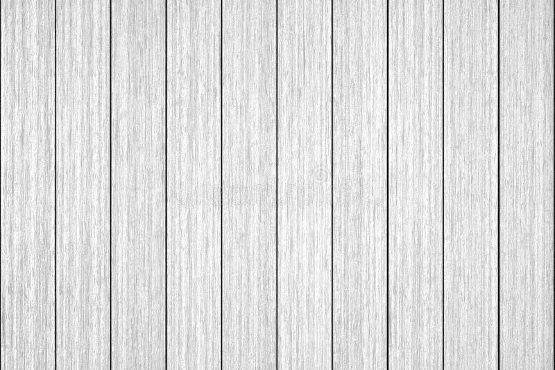 Fondo bianco di legno di struttura della plancia immagini stock