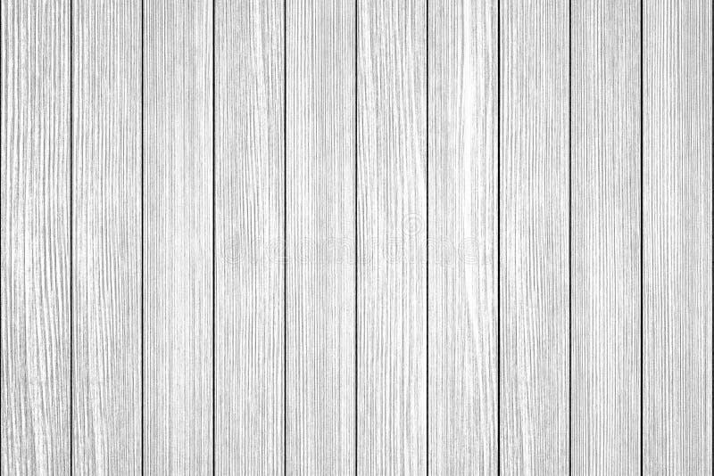Fondo bianco di legno di struttura della plancia fotografia stock