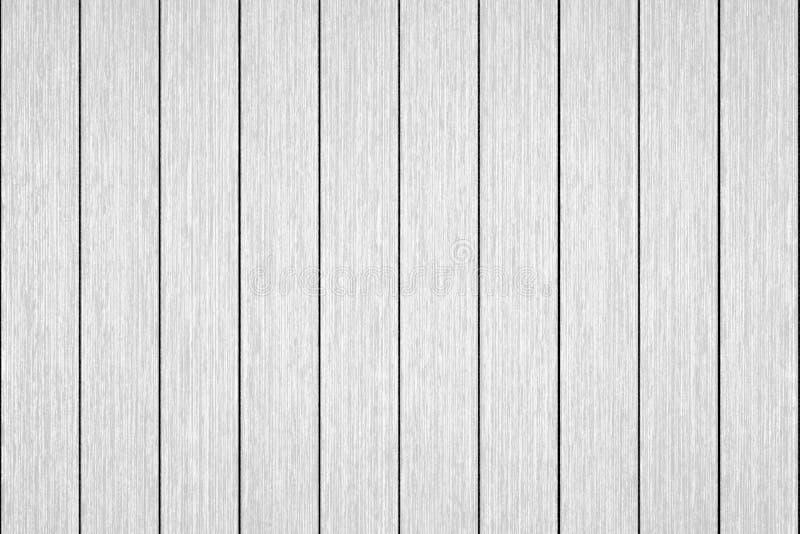 Fondo bianco di legno di struttura della plancia immagine stock