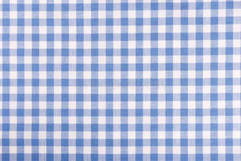 Fondo bianco e blu del tessuto delle cellule immagine stock