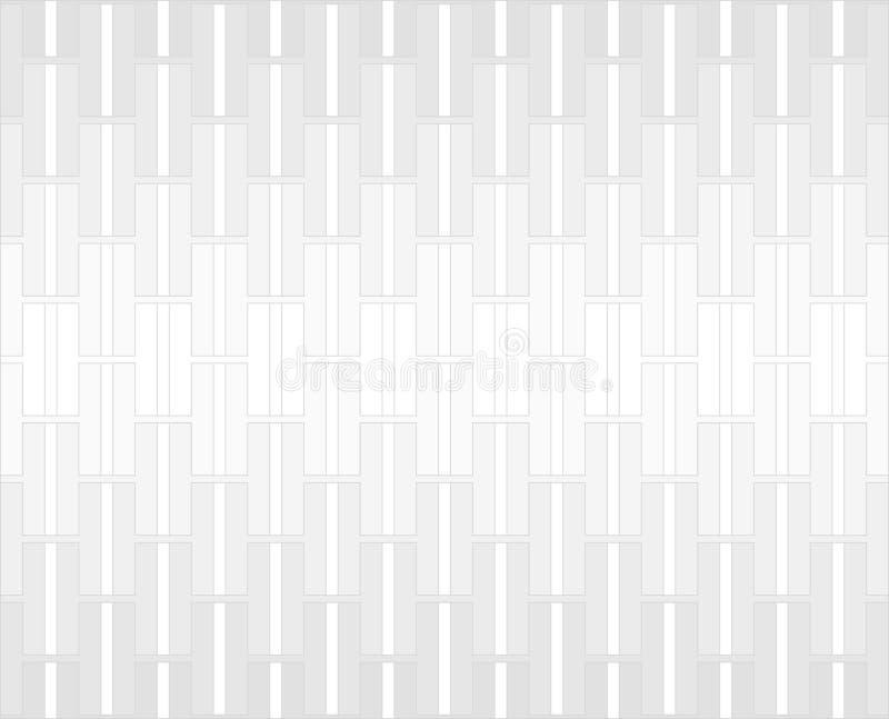 Fondo bianco e grigio del modello di alfabeto di H illustrazione di stock