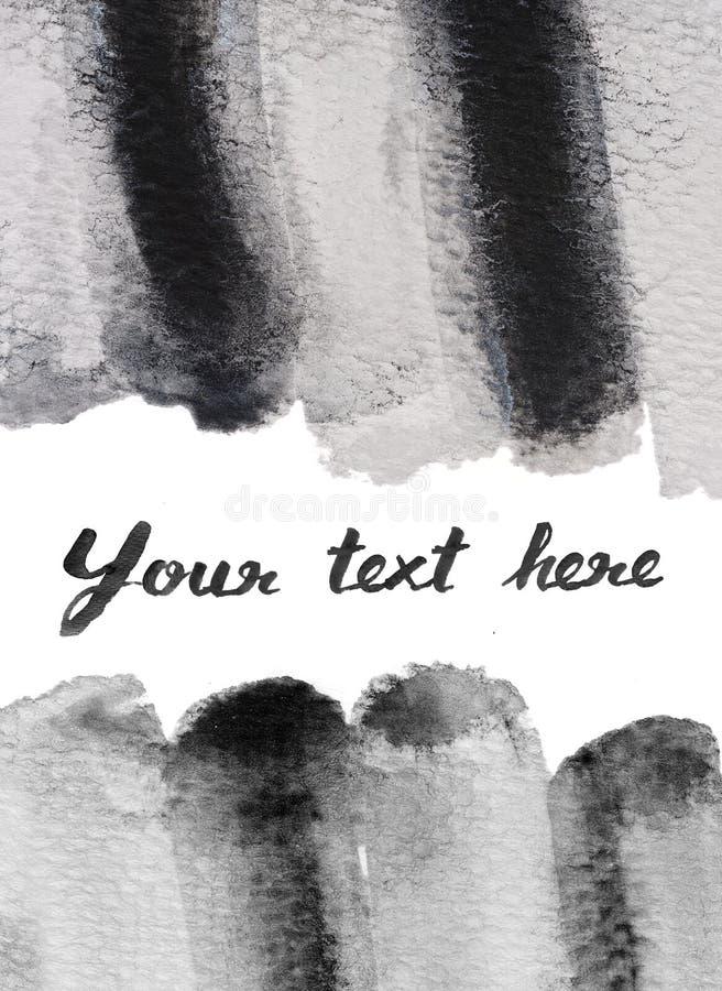 Download Fondo In Bianco E Nero Di Colore Di Acqua Illustrazione di Stock - Illustrazione di nero, acqua: 56891446