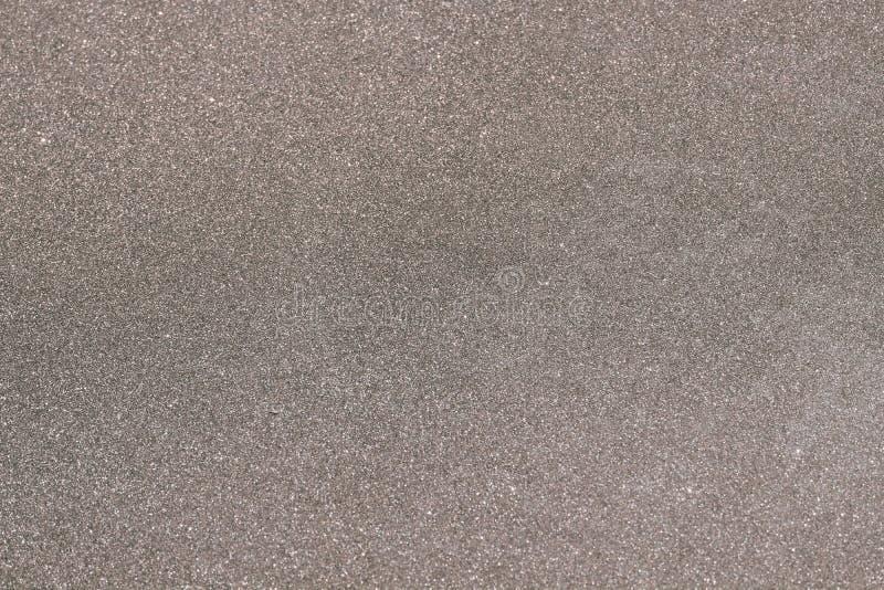 Fondo in bianco e nero di struttura della sabbia fotografia stock