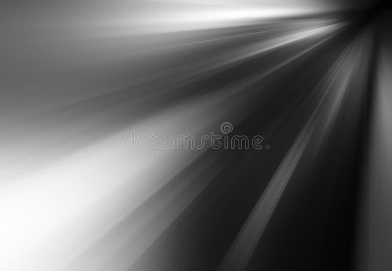 Fondo in bianco e nero diagonale del mosso illustrazione di stock