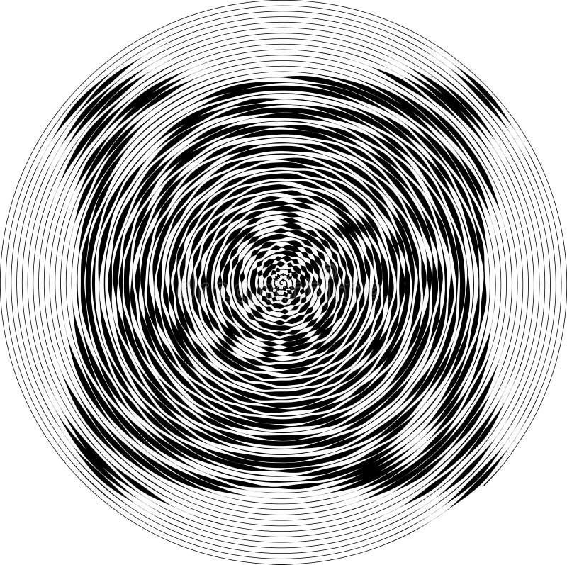 Fondo in bianco e nero punteggiato estratto Modello afflitto semitono Struttura di lerciume di piccoli punti e particelle rotondi illustrazione vettoriale