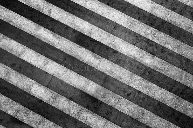 Fondo in bianco e nero a strisce di lerciume fotografia stock libera da diritti