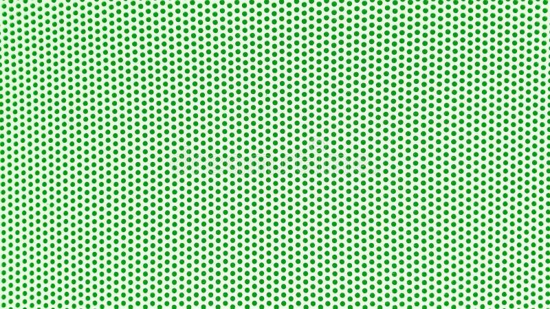 fondo blanco con los puntos verdes fotos de archivo