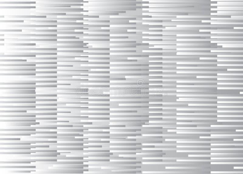 Fondo blanco de la interferencia ilustración del vector