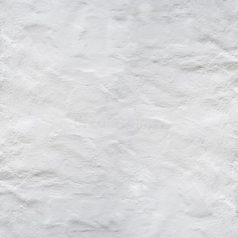 Fondo blanco de la pared del estuco foto de archivo