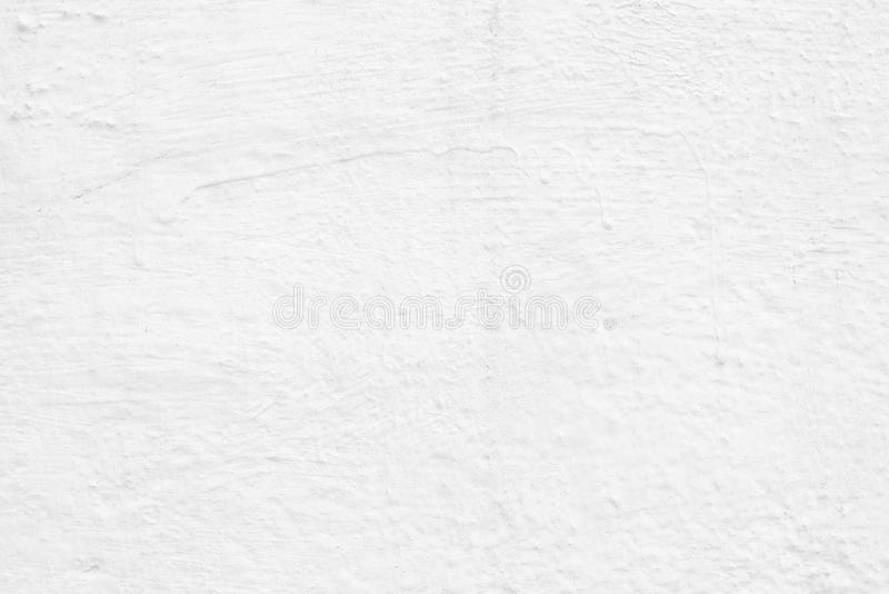 Fondo blanco de la textura del muro de cemento de la pintura fotos de archivo libres de regalías