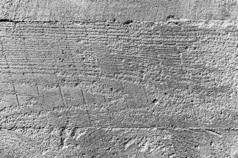 Fondo blanco de la textura de la pared de ladrillo con Gray Stripes foto de archivo