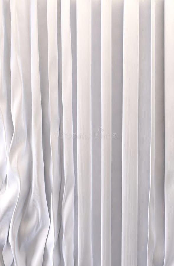 Fondo blanco de las cortinas stock de ilustración