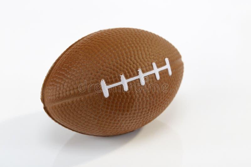 Fondo blanco del fútbol americano, primer imagen de archivo libre de regalías