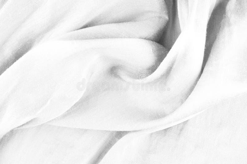 Fondo blanco del satén imágenes de archivo libres de regalías