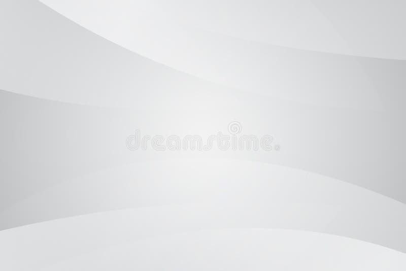 Fondo blanco inconsútil moderno blanco abstracto, vector, gris, blac stock de ilustración