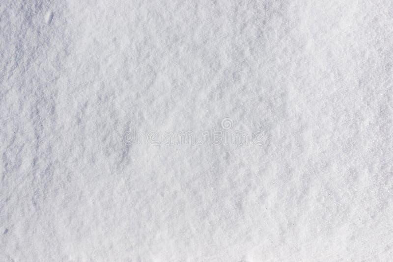 Fondo blanco natural fresco de la textura o del invierno de la nieve fotos de archivo libres de regalías
