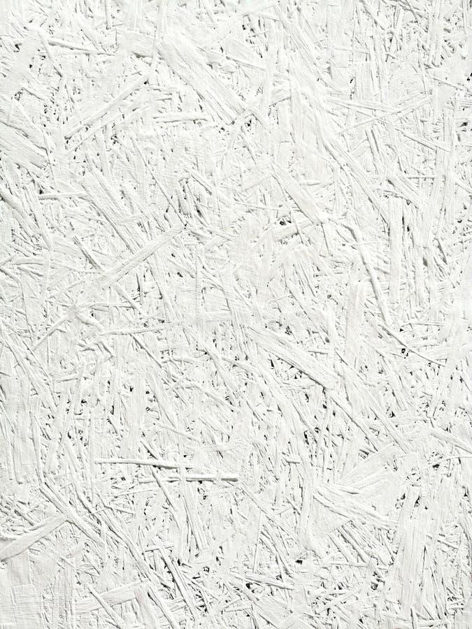 Fondo blanco textura desigual de las virutas blancas fotografía de archivo libre de regalías