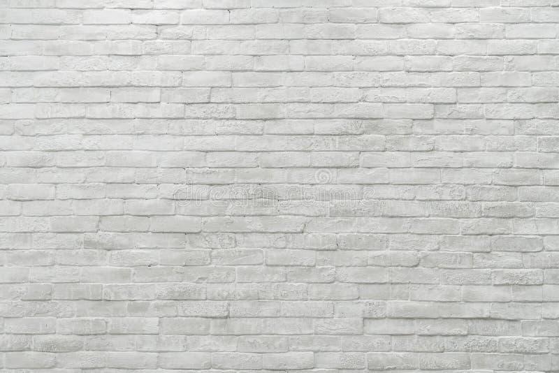 Fondo blanco texturizado resistido extracto de la pared de ladrillo imágenes de archivo libres de regalías