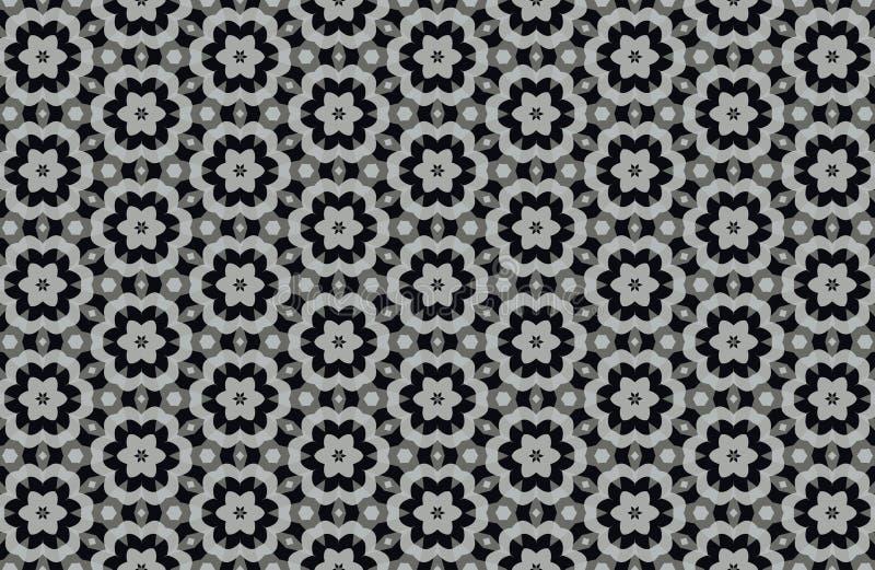 fondo blanco y negro abstracto de los modelos stock de ilustración