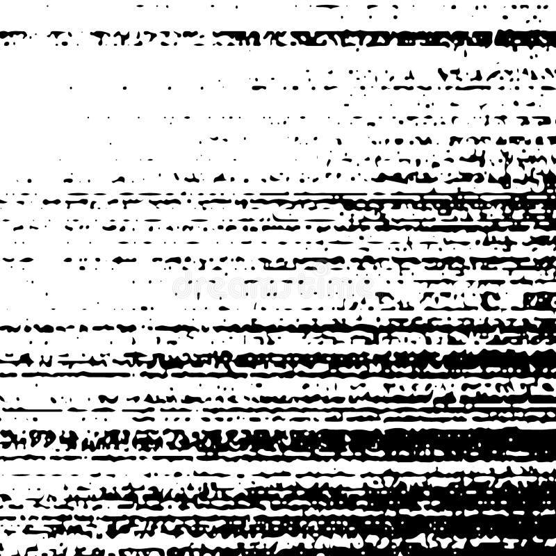 Fondo blanco y negro apenado del stipple de la textura stock de ilustración