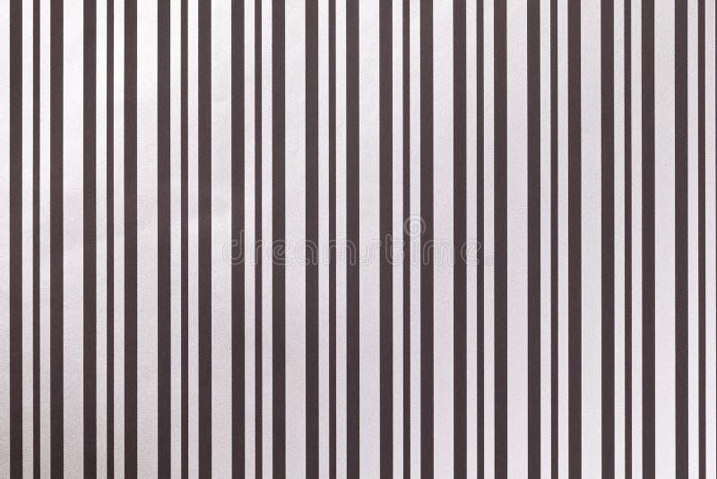 Fondo blanco y negro de envolver el papel rayado foto de archivo