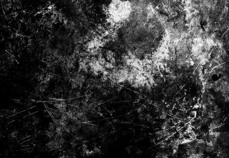 Fondo blanco y negro de la textura del grunge, uso para la capa en im imagen de archivo