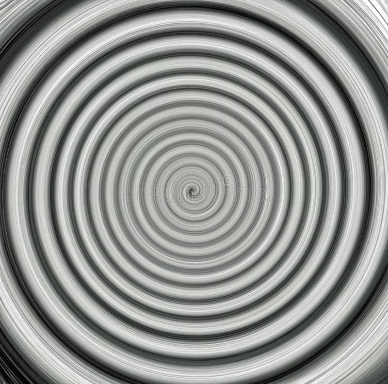 Fondo blanco y negro de la zona crepuscular del extracto de la pintura de Digitaces stock de ilustración