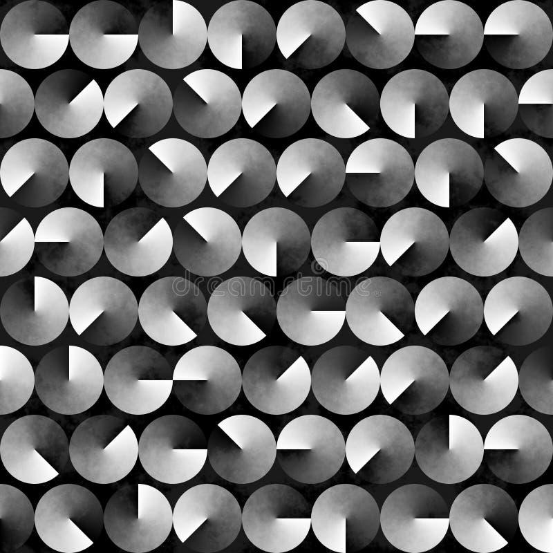 Fondo blanco y negro geométrico abstracto foto de archivo libre de regalías