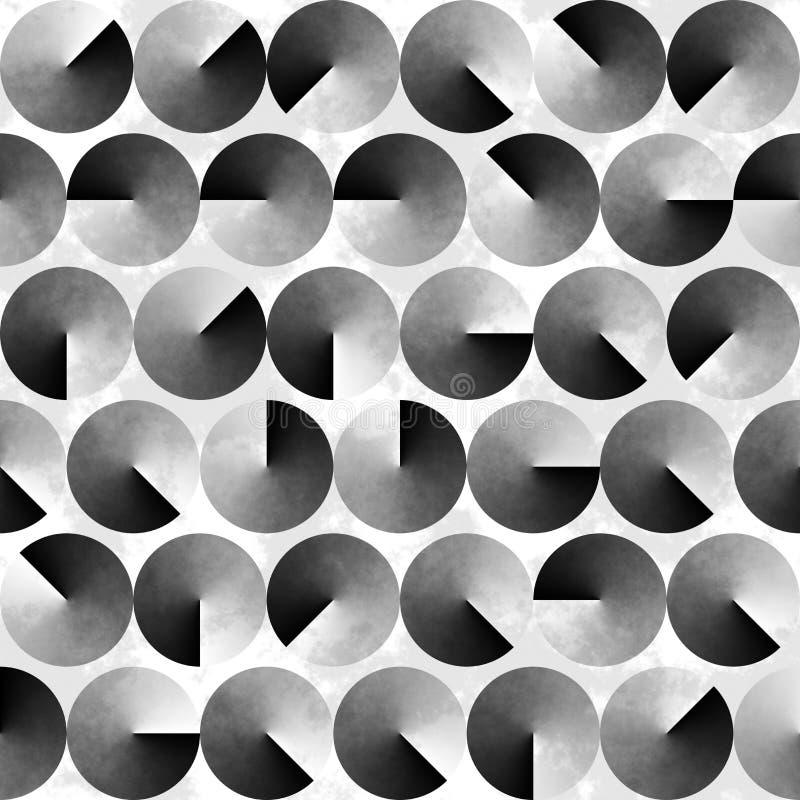 Fondo blanco y negro geométrico abstracto fotografía de archivo