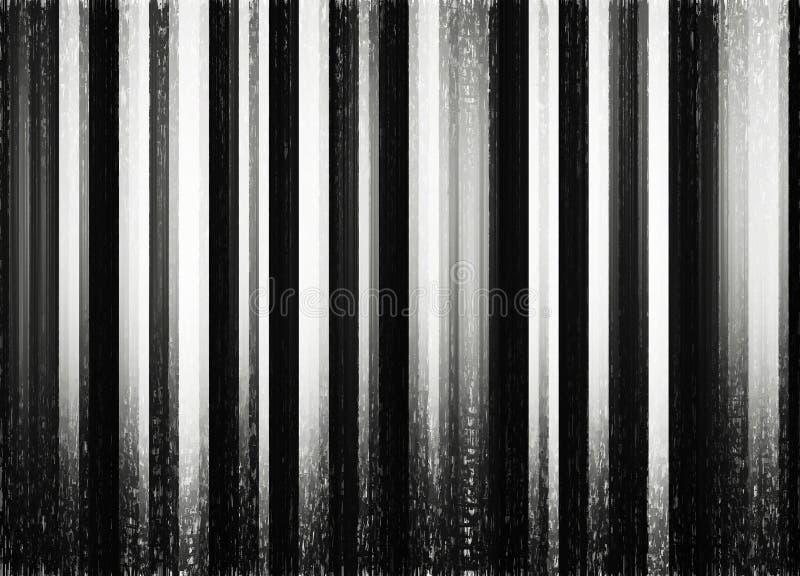 Fondo blanco y negro vertical del matorral del bosque imágenes de archivo libres de regalías