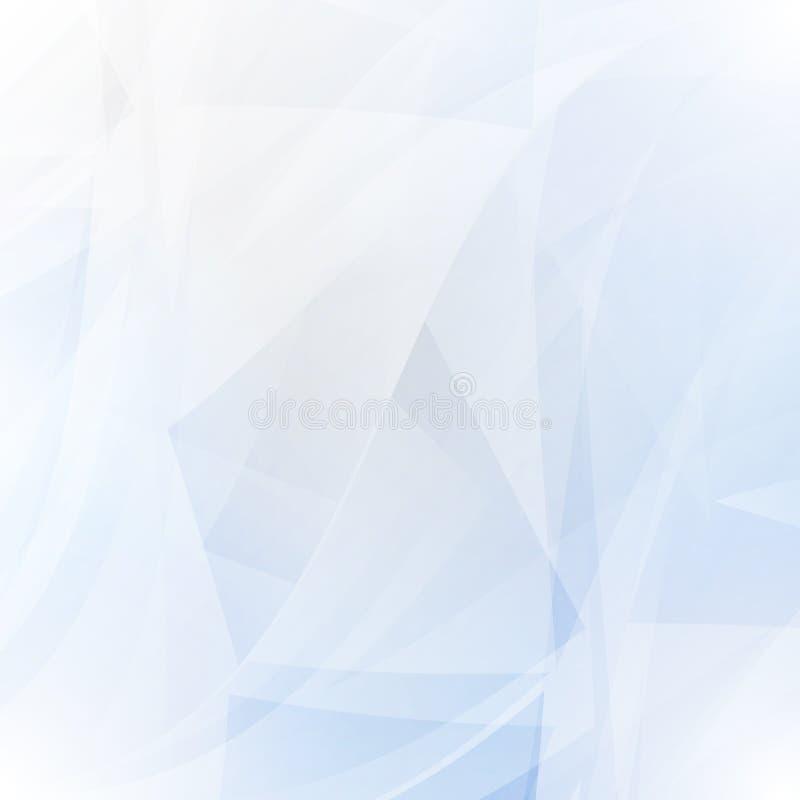 Fondo blu astratto royalty illustrazione gratis