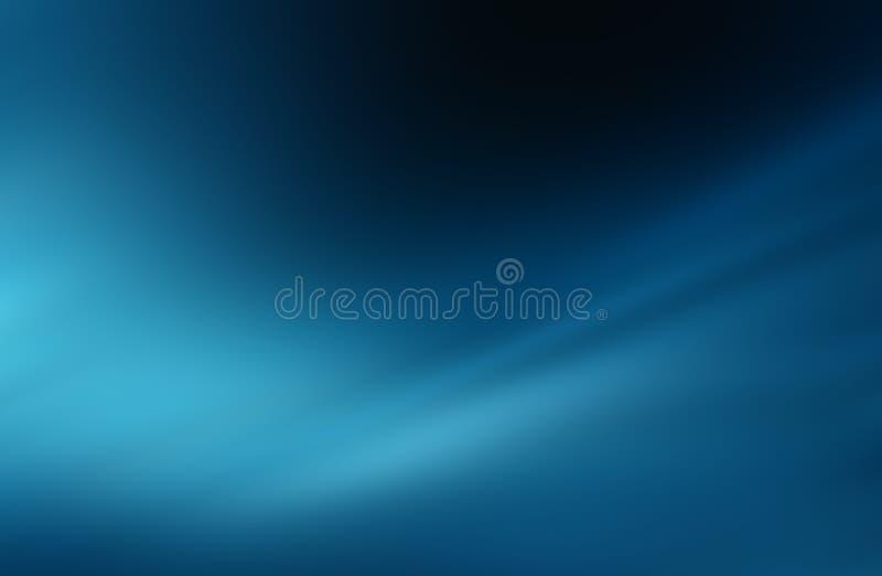 Fondo blu astratto illustrazione di stock