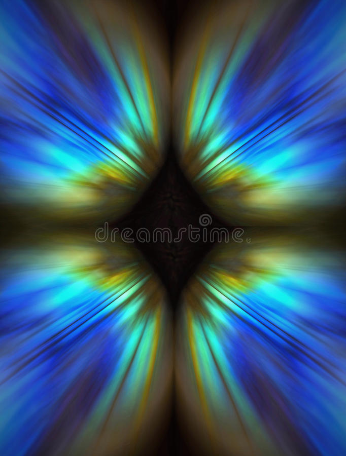 Fondo blu astratto fotografia stock libera da diritti