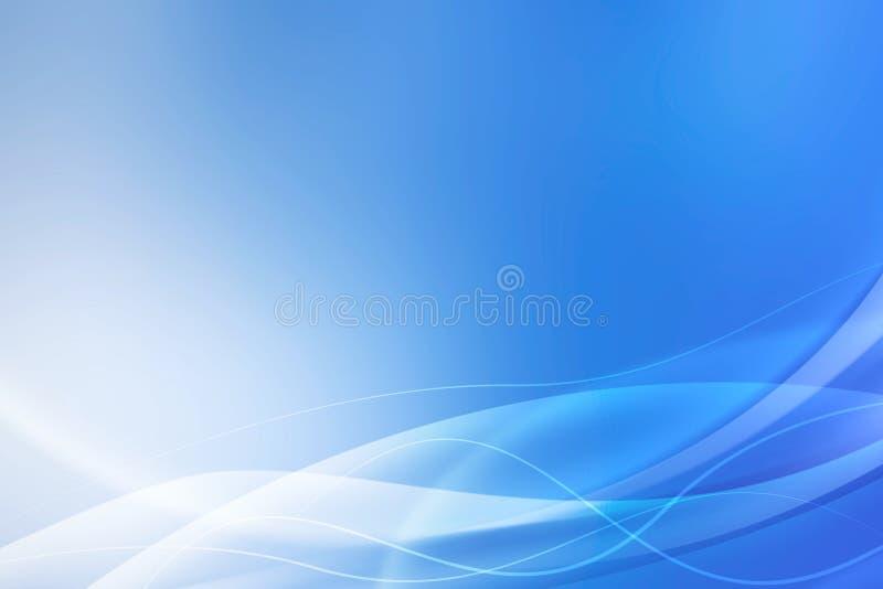 Fondo blu astratto illustrazione vettoriale