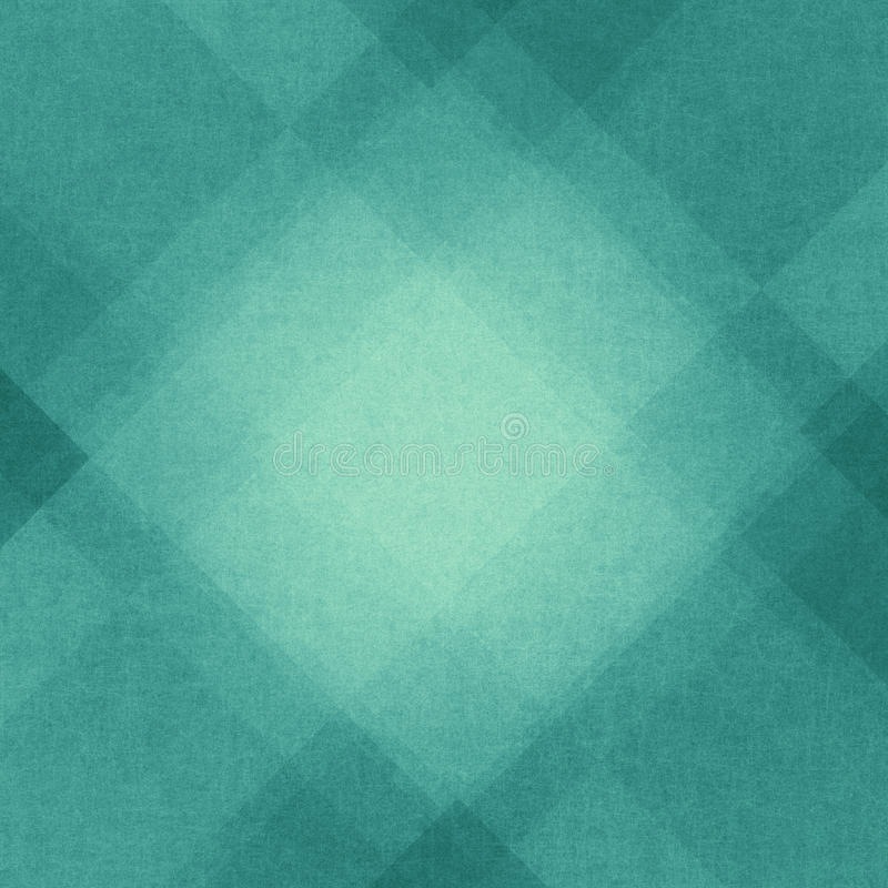 Fondo blu astratto con gli angoli ed il modello del triangolo illustrazione di stock