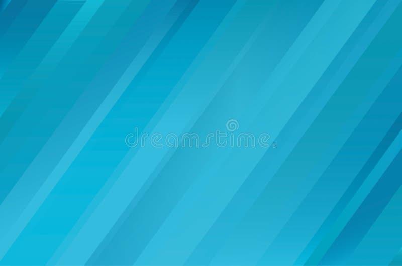 Fondo blu astratto con le bande Vettore Spazio vuoto per royalty illustrazione gratis
