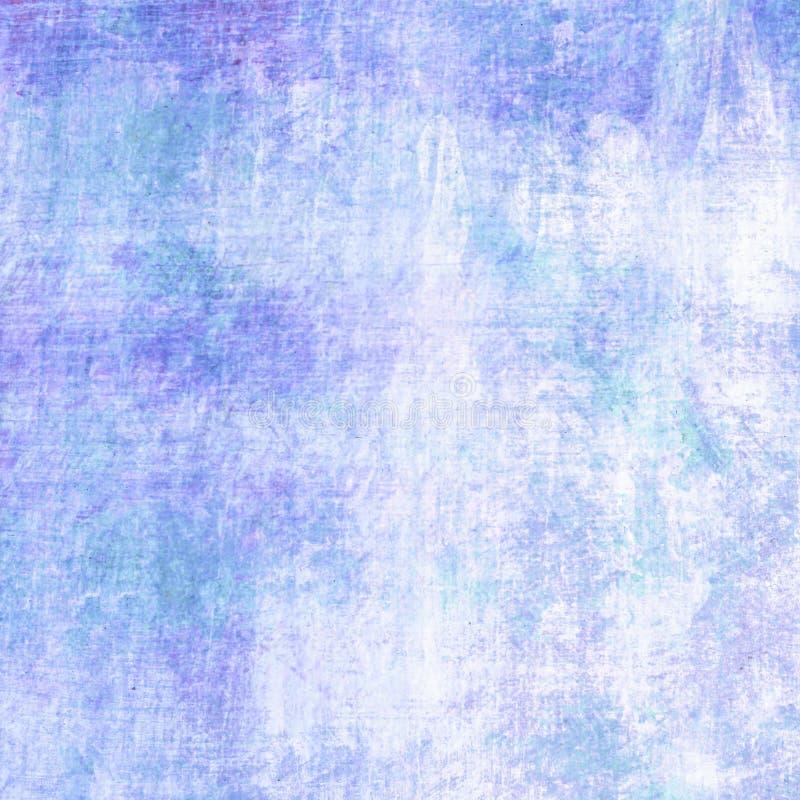 Fondo blu astratto del pennello con struttura del graffio immagine stock libera da diritti