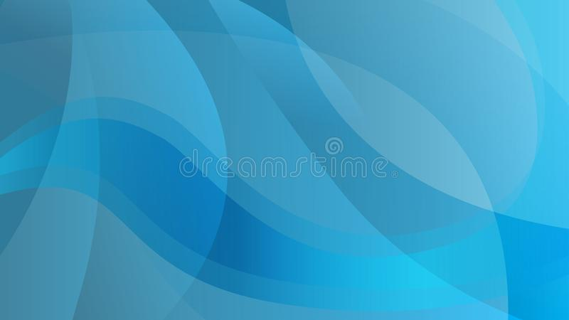Fondo blu astratto di tecnologia di colore royalty illustrazione gratis