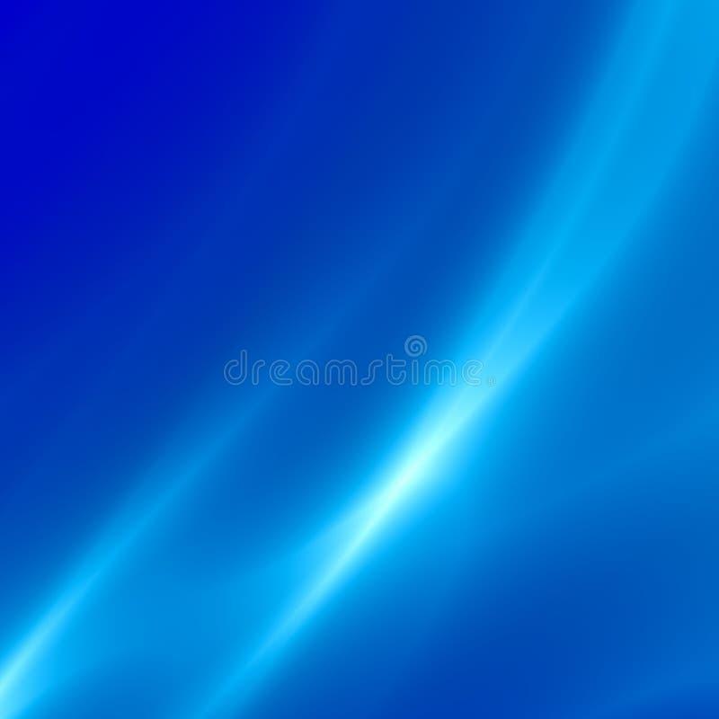 Fondo blu astratto molle Desktop della compressa di Minimalistic Digital o contesto moderno del computer Progettazione della cart illustrazione di stock