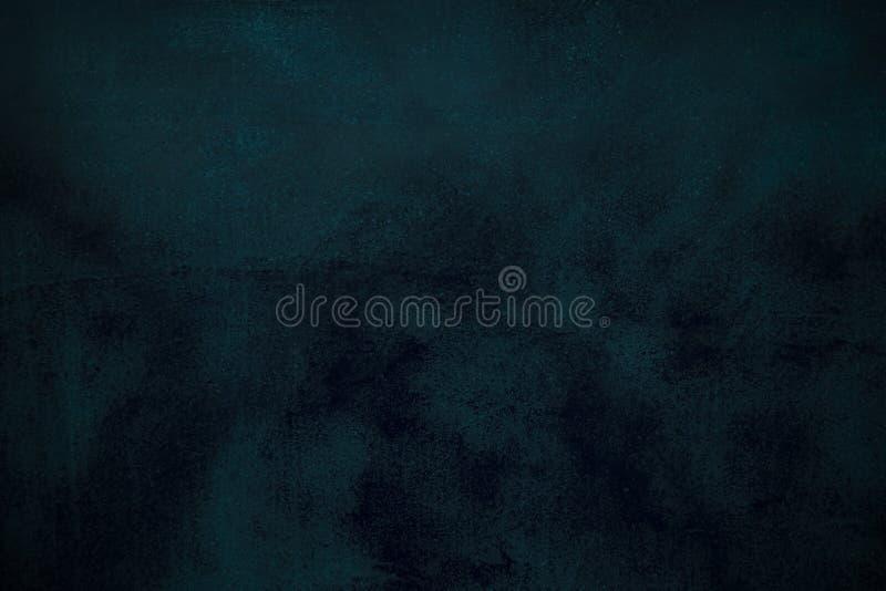 Fondo blu astratto o fondo nero con i lotti di struttura d'annata afflitta approssimativa del fondo di lerciume immagini stock