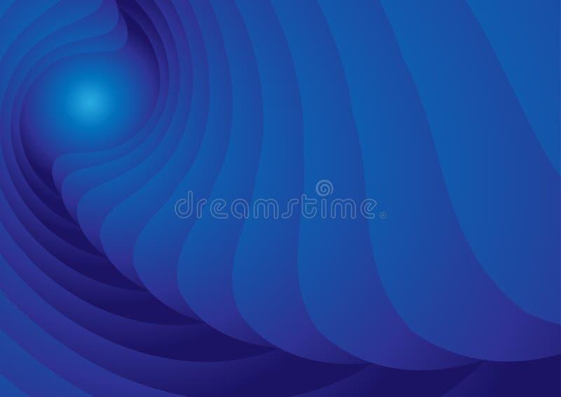 Fondo blu-chiaro dell'estratto di scarabocchio di vettore fotografie stock