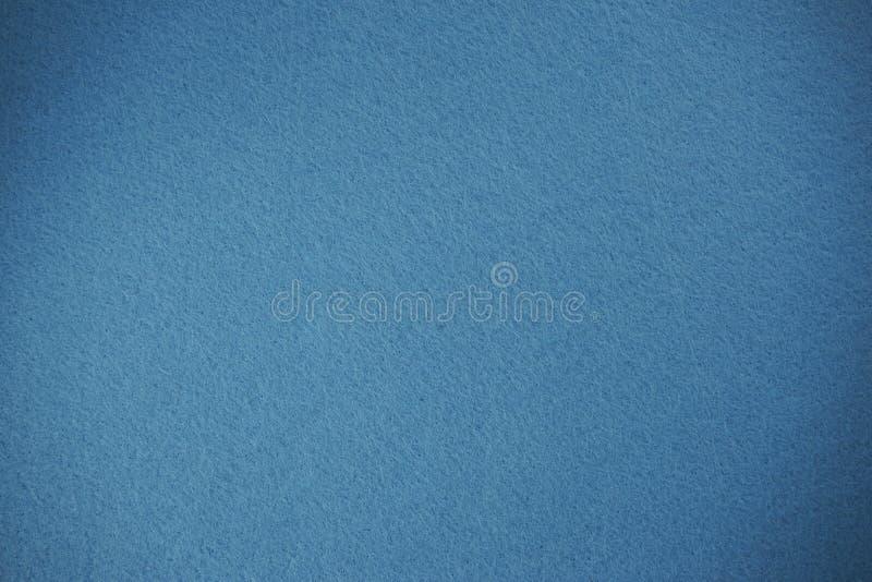 Fondo blu-chiaro di struttura del feltro immagini stock