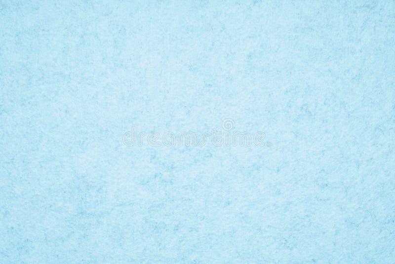 Fondo blu-chiaro di struttura del feltro fotografia stock libera da diritti