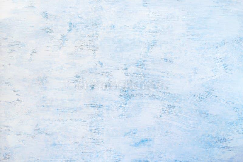 fondo blu-chiaro dipinto estratto Struttura di legno blu immagine stock