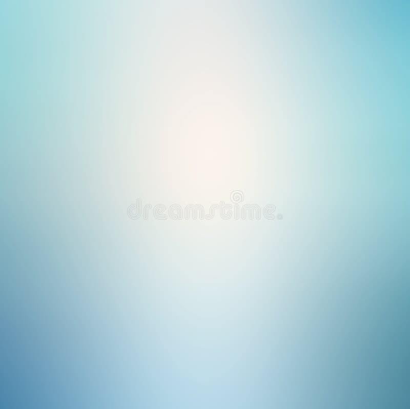 Fondo blu-chiaro molle fotografia stock