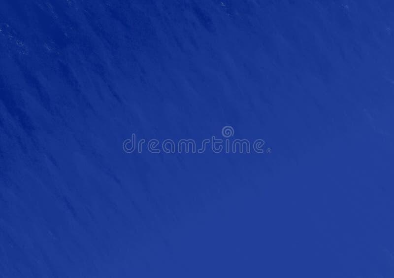Fondo blu con effetto di struttura del pastello illustrazione di stock